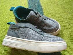 baby boy shoes size 5 cat & jac new gray and teal