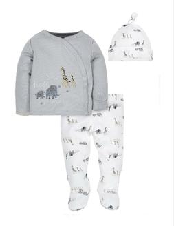 Gerber Baby Boy Take Me Home Outfit Set Size Newborn Gray