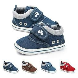 Baby Boys Girl Casual Crib Shoes Toddler Sports Cotton Sneak