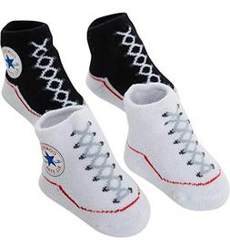 Converse Baby Bright Infant Booties  /White, 0-6 Months)