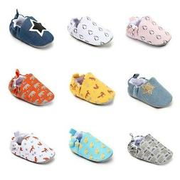 baby girls breathable crib shoes toddler cartoon