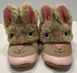 Baby Girls ROBEEZ Bunny Rabbit Booties Boots Shoes Easter Si