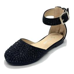 Baby Girls' Fashion Ankle Strap Dress Shoes size 4, 5, 6, 7,