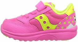 SAUCONY Baby Jazz Lite Pink Monster Toddler Youth Girls Shoe