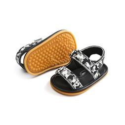 Baby Shoes Hard Sole Baby Shoes Toddler Camouflage Sandals S
