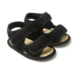 Baby Shoes Soft Sole Baby Shoes Toddler Black Sandals Shoes