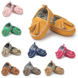 Baby Summer Crib Shoe Soft Sole Leater Shoes Soft Bottom Clo