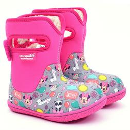 Disney Baby Winter Warm Waterproof Boots Shoes Toddler 7,8,9