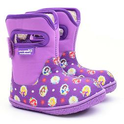 Disney Baby Winter Warm Waterproof Boots Shoes Violet Prince