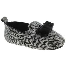Luvable Friends Bow HerringBone Loafers Shoes BHFO 0443