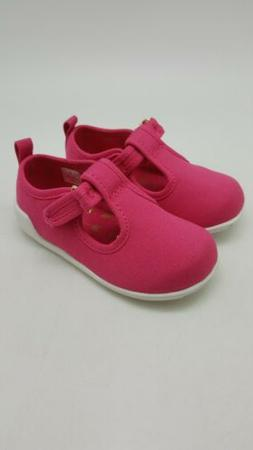 Baby Deer Canvas Mary Jane T Strap Walking Shoes Toddler Gir