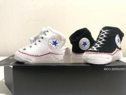 Converse Chuck Taylor All Star Infant New Born Baby Sock Boo