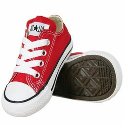 Converse Chuck Taylor All Star Ox Red White Infant Toddler G