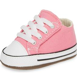 CONVERSE CTAS Cribster Mid Newborn baby Shoes Pink Sizes 1-3