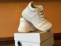Genuine Leather Baby Boy Girls Shoes White US Size 5 Compare