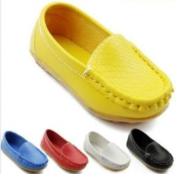 Hot Boy's Flats Boat Girl's Casual Oxfords Baby Loafer Pumps