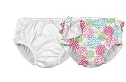 i play. Baby Boys' Reusable Absorbent Swim Diapers 2 Pack 24