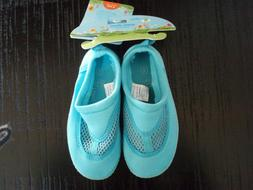i Play Toddler Water Shoes Aqua Blue Size 8 ~ NWT