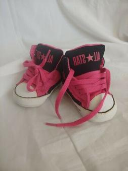 infant girl shoes 0-3 months Pink Converse size 1