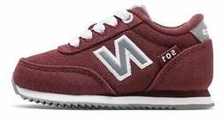 New Balance Kid's 501 Infant Boys Shoes Red with Grey