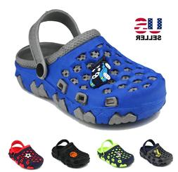 Baby Kids Boys Toddler Slip On Clogs Sandals Shoes Beach Sum