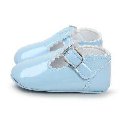 0-18M Girl Soft Sole Crib Shoes Trainers Casual