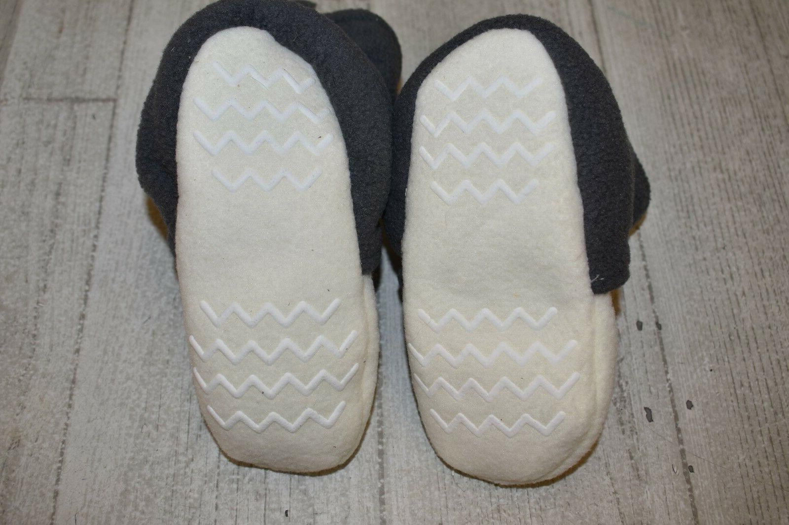 **Hudson Baby 54787 Fleece Bootie - Size 18-24 Months White/Gray