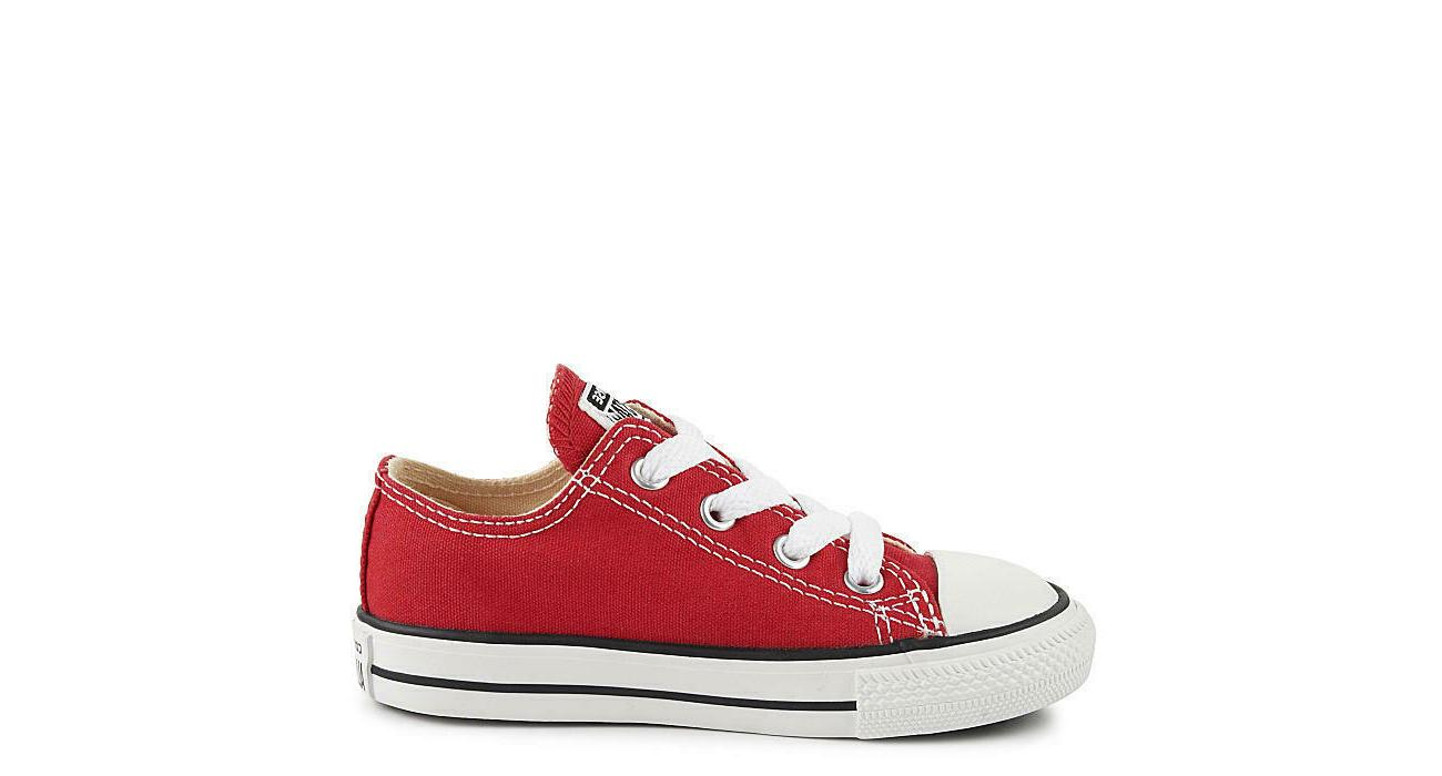 Converse Red White Toddler Infant Baby Boys All