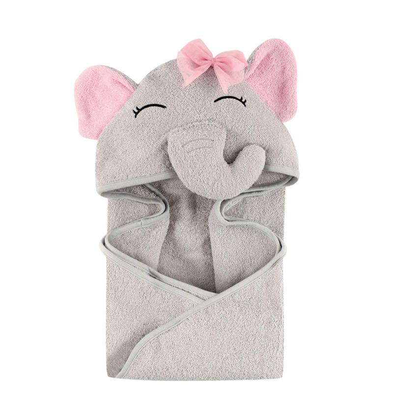 animal face hooded towel for girls pretty