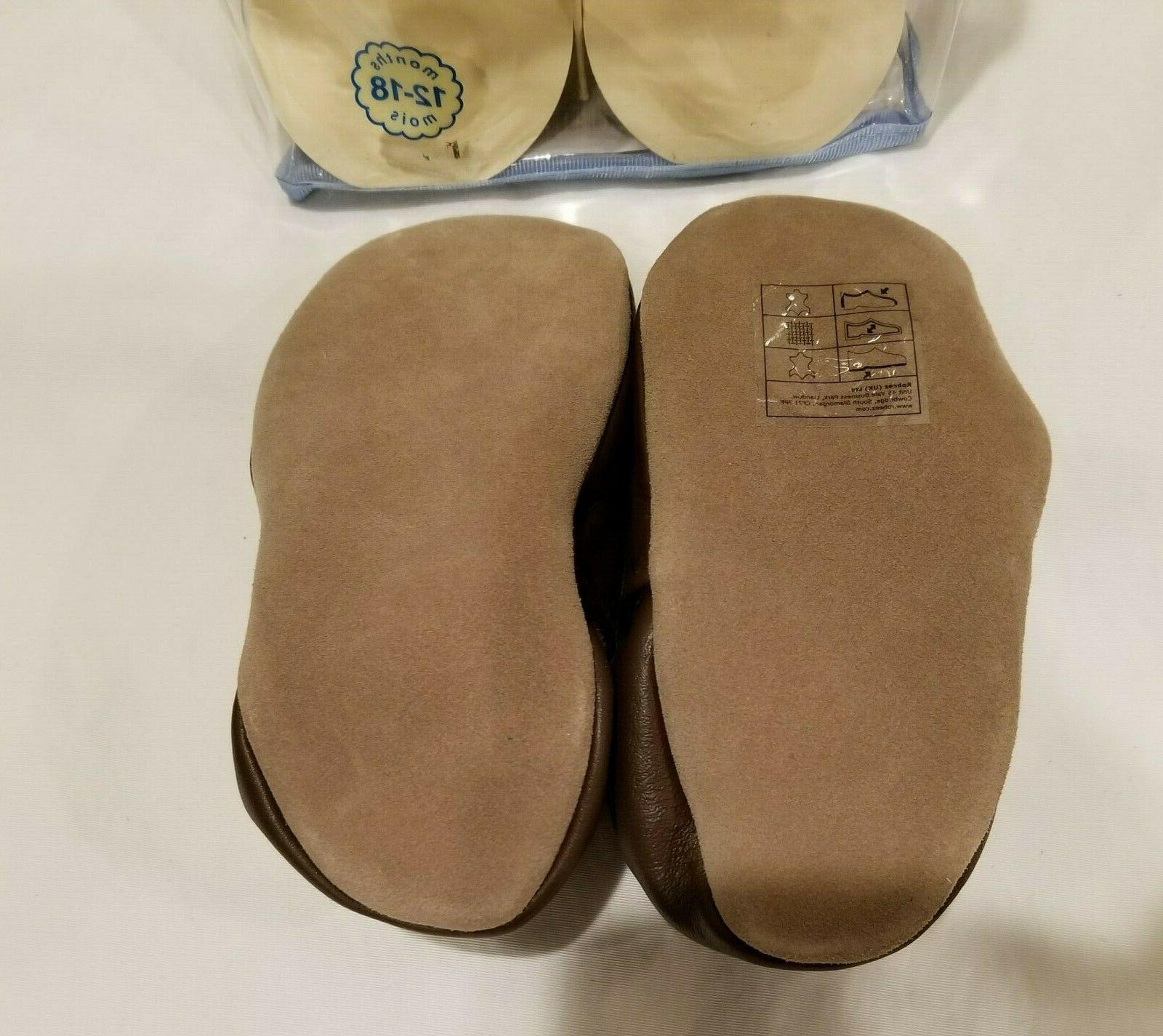 Robeez Brown Sole Shoes sizes 0-24