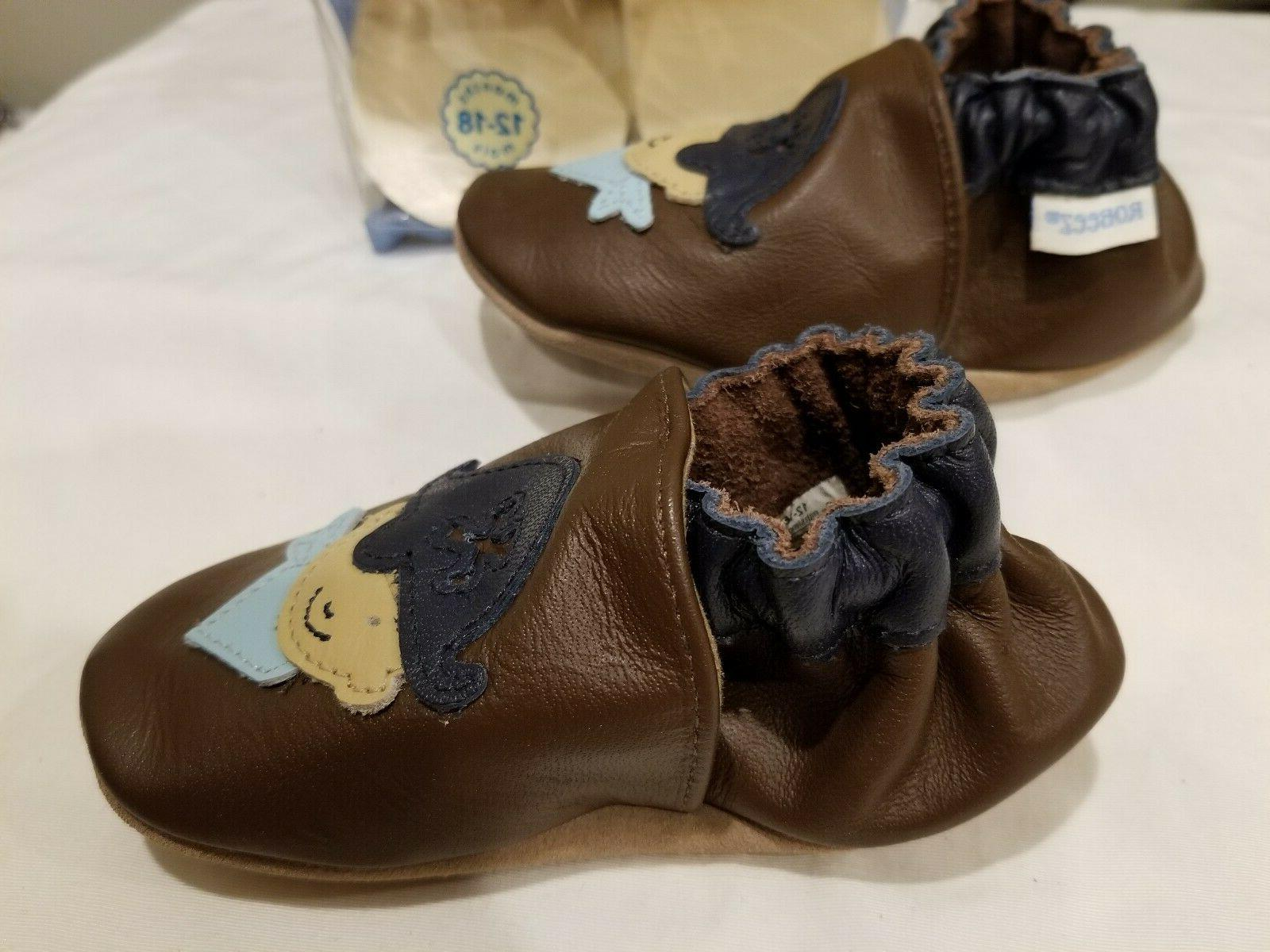Robeez Baby Brown Sole Shoes sizes