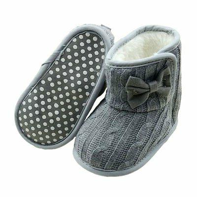 Baby Girl Boy Boots Winter Booties Infant 0-18M