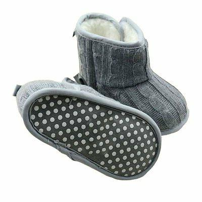 Baby Girl Boots Winter Booties Toddler 0-18M