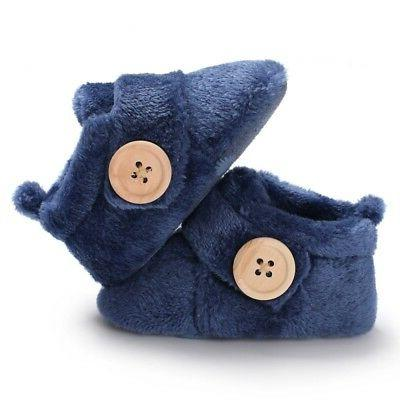 Baby Sole Infant Toddler Newborn Crib Shoes US