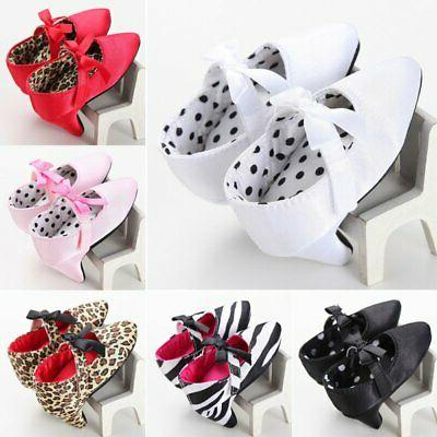Baby Girl Shoes Elegant High Heels for Photo Princess Toddle