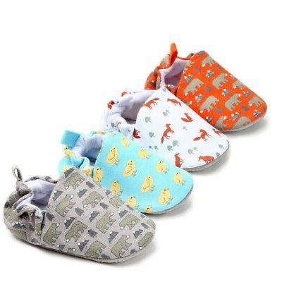 Baby Girls Breathable Shoes Toddler Cartoon Soft