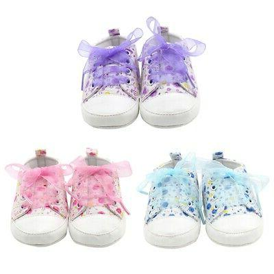 Baby Crib Shoes Soft Sneakers 0-3 US