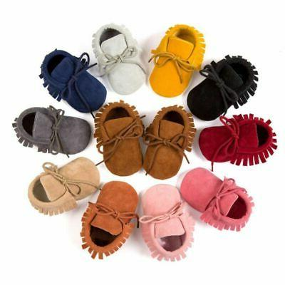 Newborn Baby Cute Tassel Soft Shoes Toddler Shoes