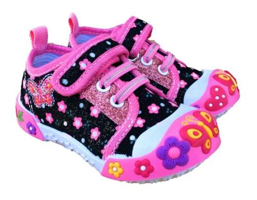 baby toddler girl shoes size 8 black
