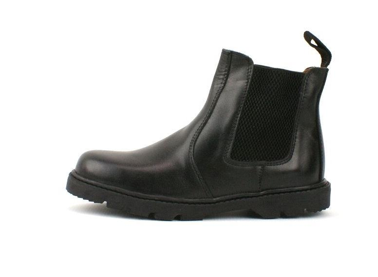 BOYS KIDS REAL LEATHER CHELSEA BOOTS SCHOOL SIZE