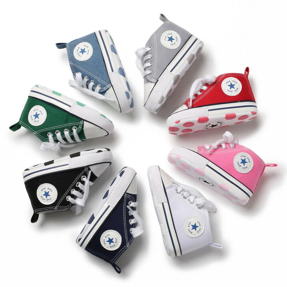 Classic Newborn Girl Shoes Sneakers Casual 1