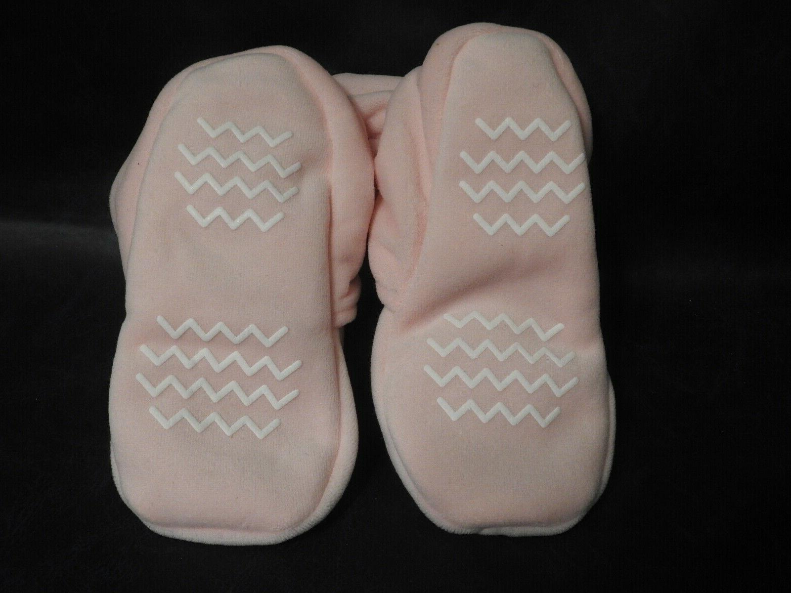 Hudson Like Pink Booties Non Skid -New with