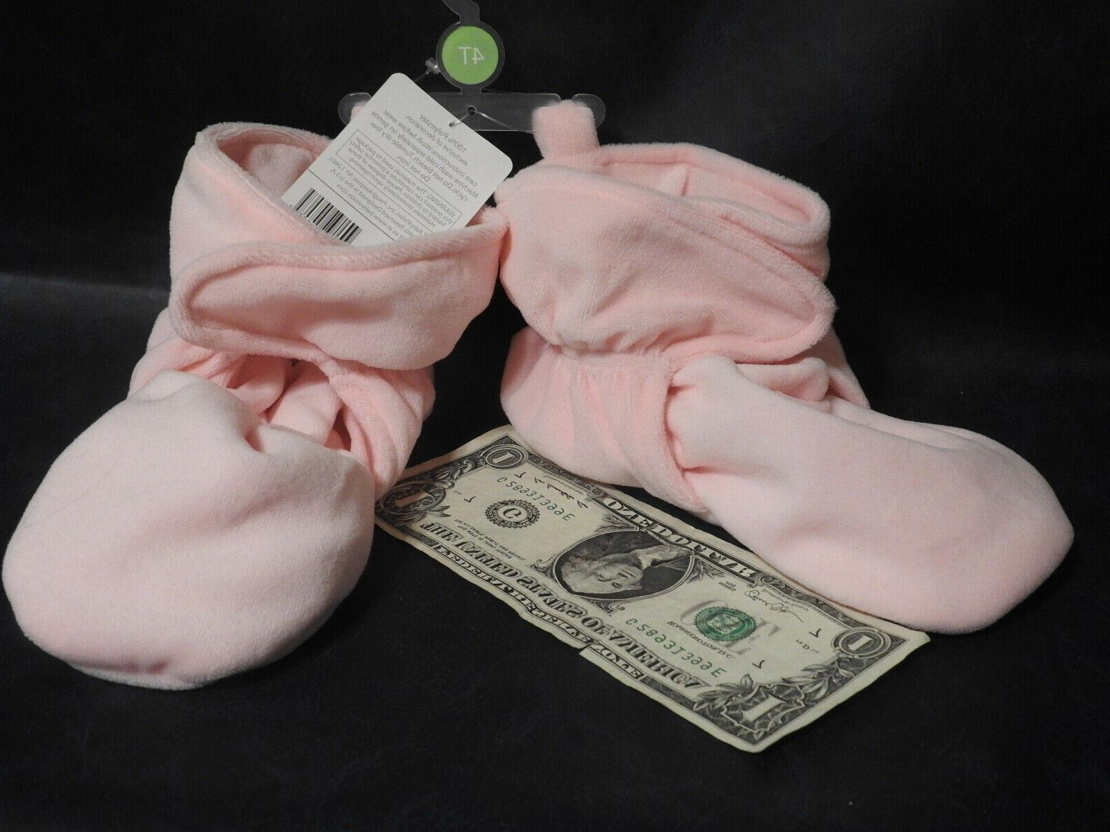 Hudson Baby Cozy Like Pink Non Skid -New with