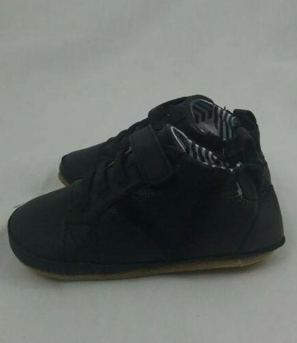 ROBEEZ First Boys Asher Athletic 100% Leather Shoes 9-12 NIB