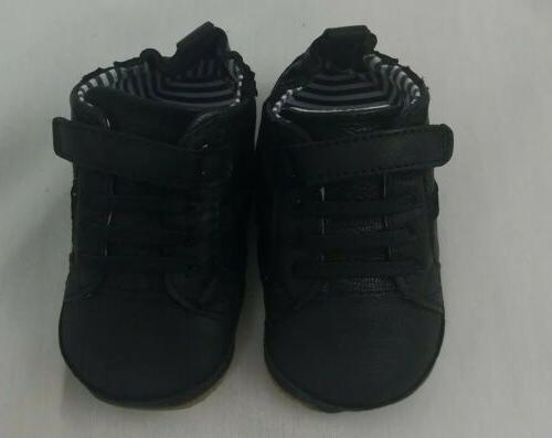 first kick baby boys asher athletic black