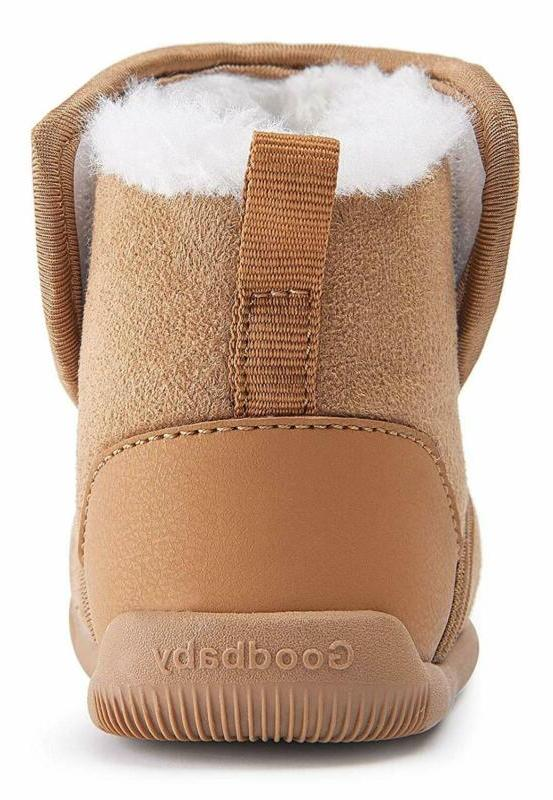 Bmcitybm Girls Snow Boots Lined Shoes (Infant/Toddler/