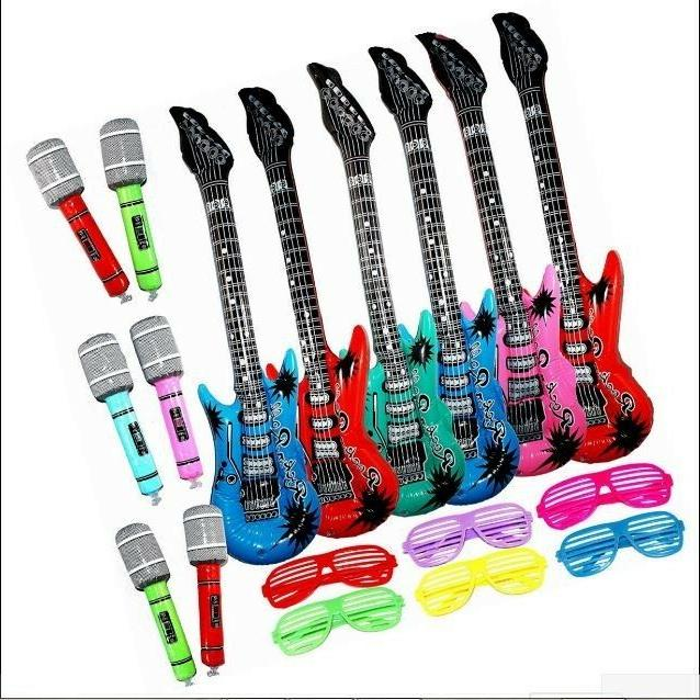inflatable rock star toy set 6 electric