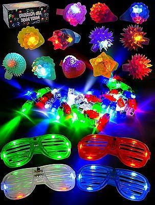 60 Light Up Party Favor Party Pack Birthday &