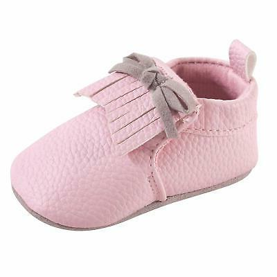 moccasin booties light pink size 0 0