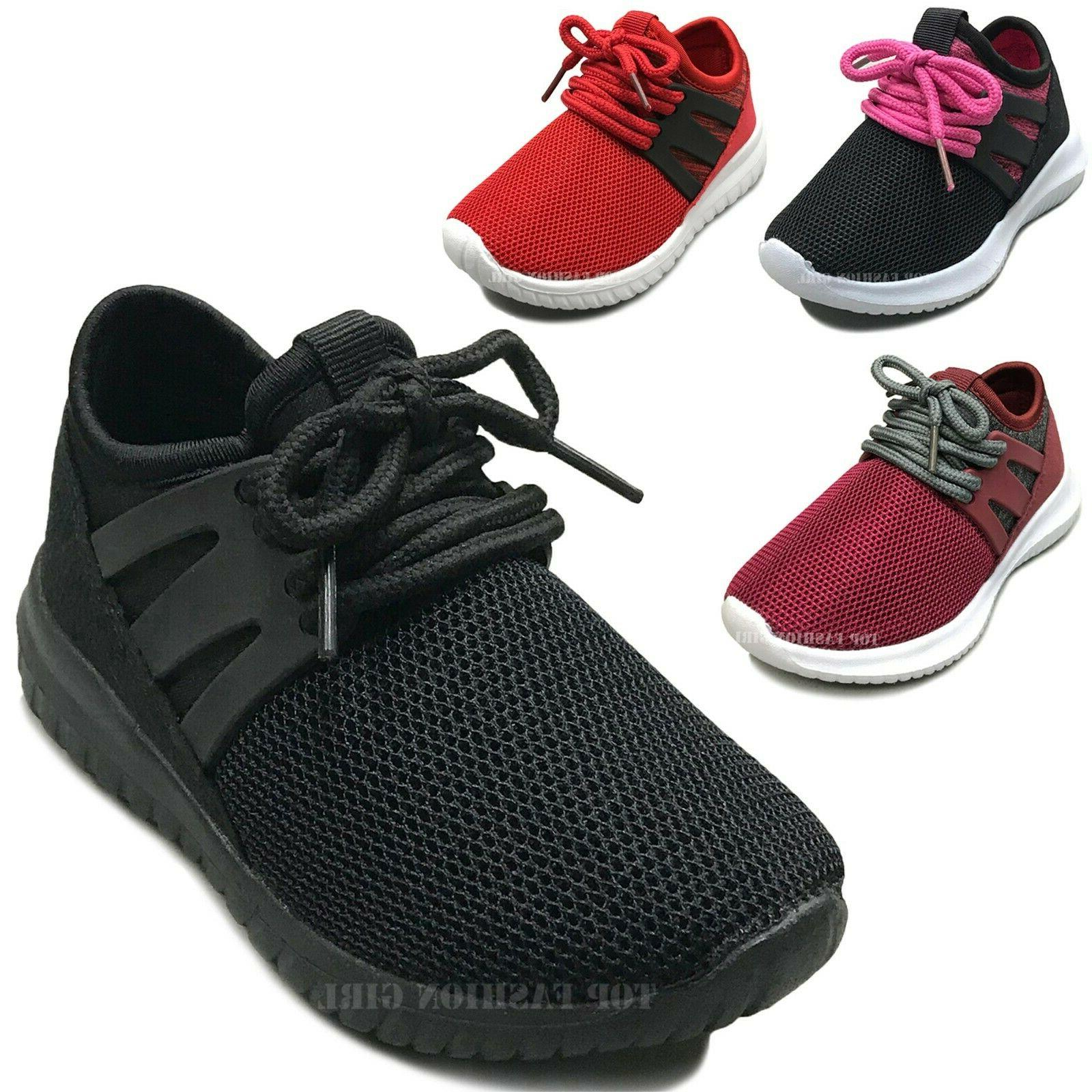 new baby sneakers sport mesh lace up